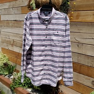 Ezekiel All We Have Is Now button up shirt size XL